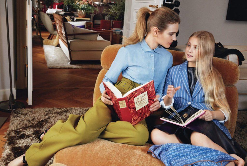 Наталья Водянова показала свою семью и шикарные апартаменты в Париже — фото