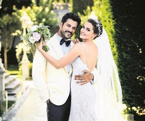 Наконец-то, это свершилось! Состоялась невероятная свадьба Бурака Озчивита и Фахрие Эвджен!
