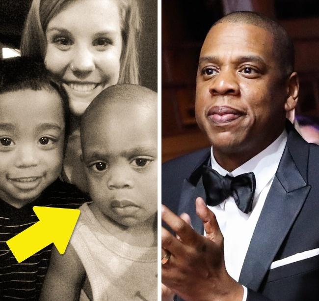 11 детей, которые похожи на знаменитостей, как две капли воды