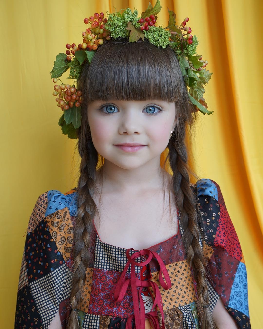 Пятилетняя модель поражает модный мир своими фотографиями