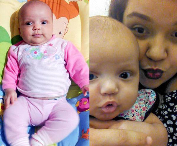 Невероятно трогательный момент: новорожденная девочка обнимает мамино лицо