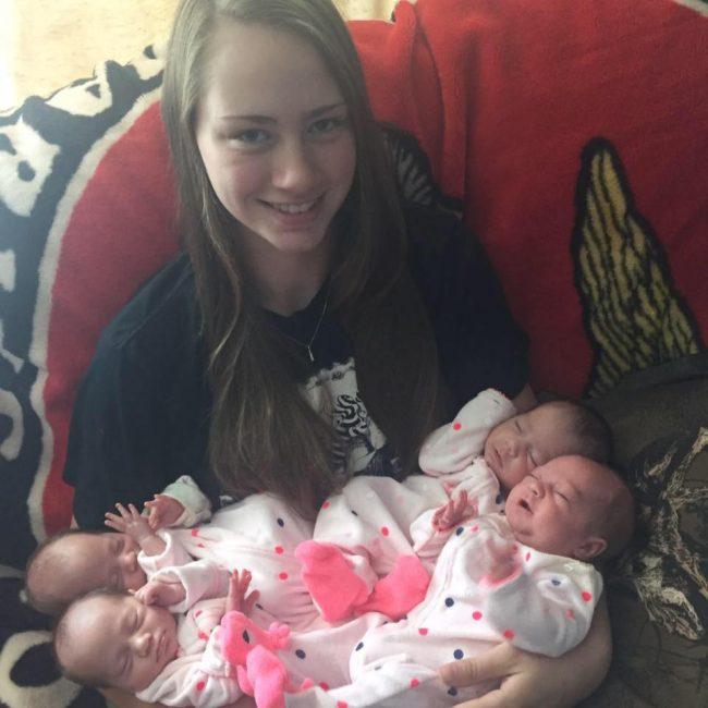 У неё было четыре выкидыша за шесть лет. Во время пятой беременности врачи неслабо её удивили