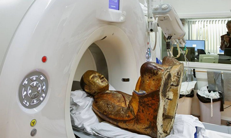 Это невероятно! А вы знаете, что находится внутри статуи Будды?