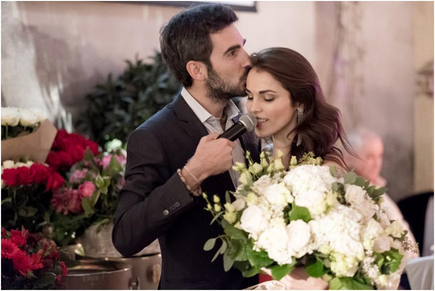Первые фото с долгожданной свадьбы Сати Казановой и Стефано Тиоццо