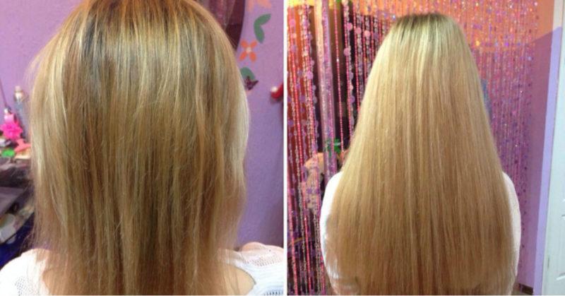 Смотрите, как просто тонкие волосы превратить в пышную гриву за 1 ночь!