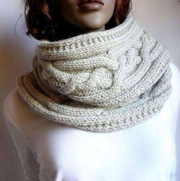Японский шарф-трансформер: новый образ каждый день! 4 варианта вязания со схемами и описанием