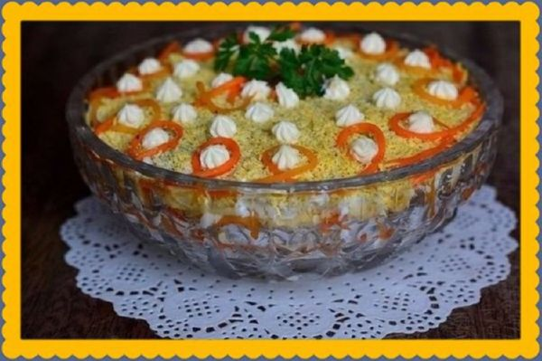 Салат «Царская трапеза» - уникальное блюдо, оно нравится всем!