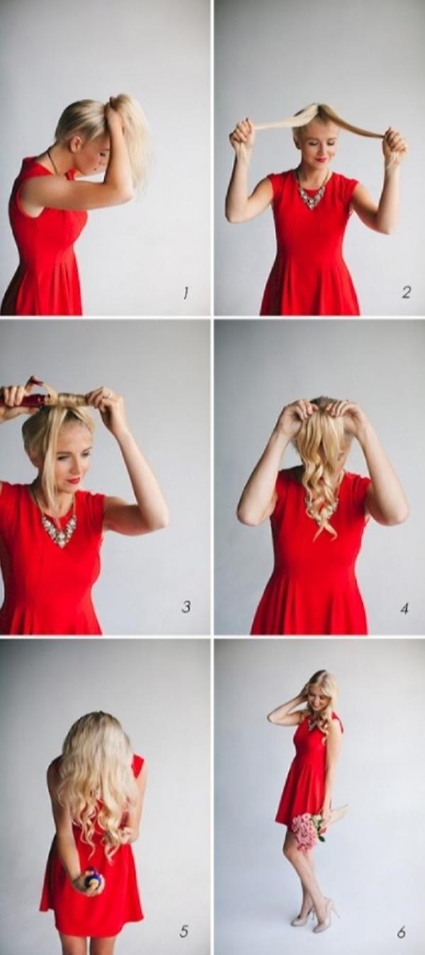 На бал за 15 минут – как быстро уложить волосы?