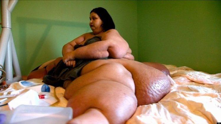Самая большая женщина в мире похудела на 400 килограмм