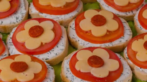 Три классных рецепта бутербродов для праздника