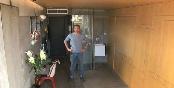 У парня получилась роскошная квартира из каморки в 23 кв.м.!