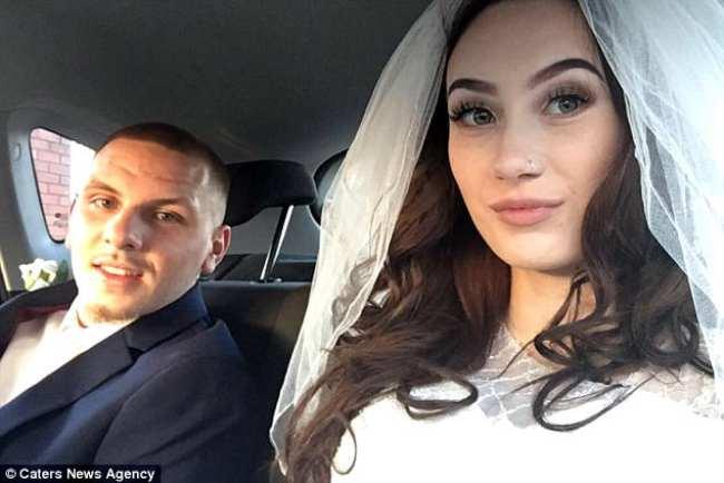 Невеста начала рожать прямо во время первого танца со своим женихом на свадьбе