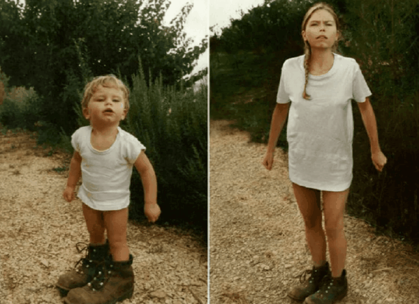 Приятная ностальгия: семейные фотографии много лет спустя
