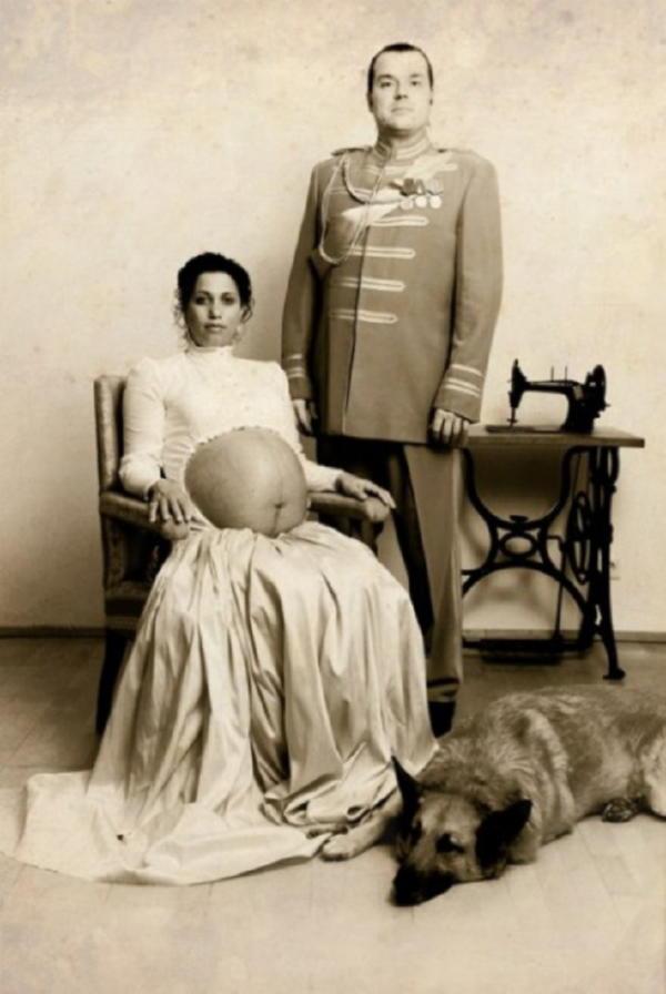 Семь странных вещей, которые творили беременные женщины прошлых лет