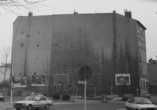 Стена похожая на улицу