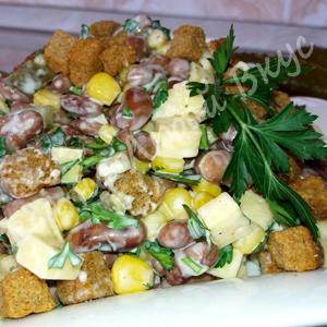 Шустрый салат – готовиться быстро, съедается мгновенно!