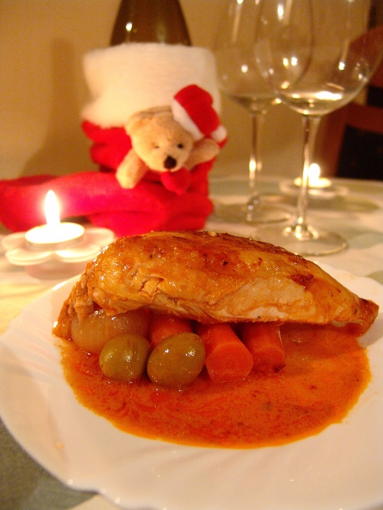 Отличный рецепт курицы на Новогодние праздники